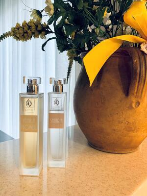 GIARDINO BENESSERE - AMBER - interiérový parfém - 1