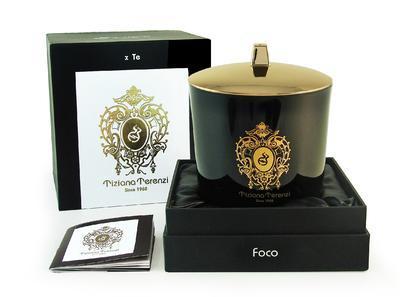 TIZIANA TERENZI - EBONY & TEAK - vonná svíčka Foco - 1