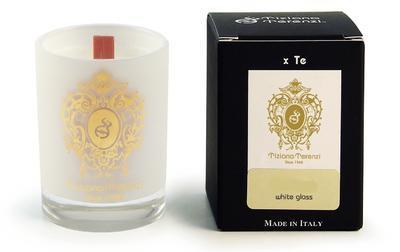 TIZIANA TERENZI - WHITE FIRE - vonná svíčka Vinci